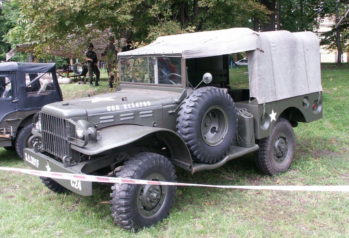 Dodge WC series T207 1941 - 1942 SUV #8
