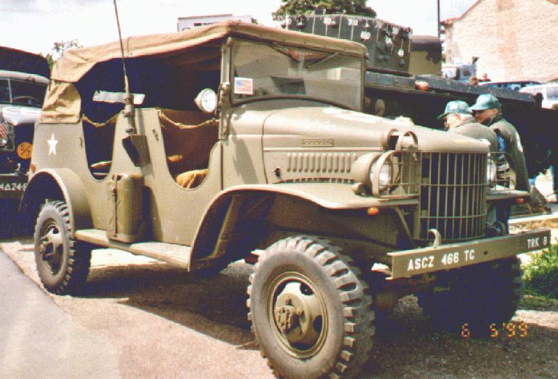 Dodge WC series T207 1941 - 1942 SUV #6