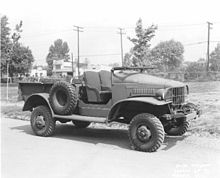 Dodge WC series T207 1941 - 1942 SUV #2