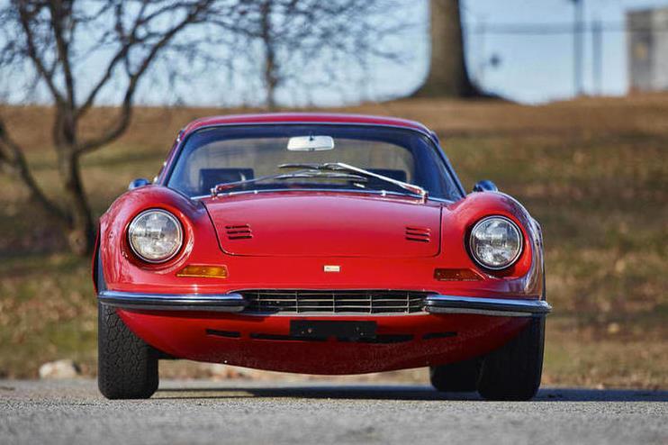 Ferrari Dino 246 GT I 1969 - 1974 Coupe #8