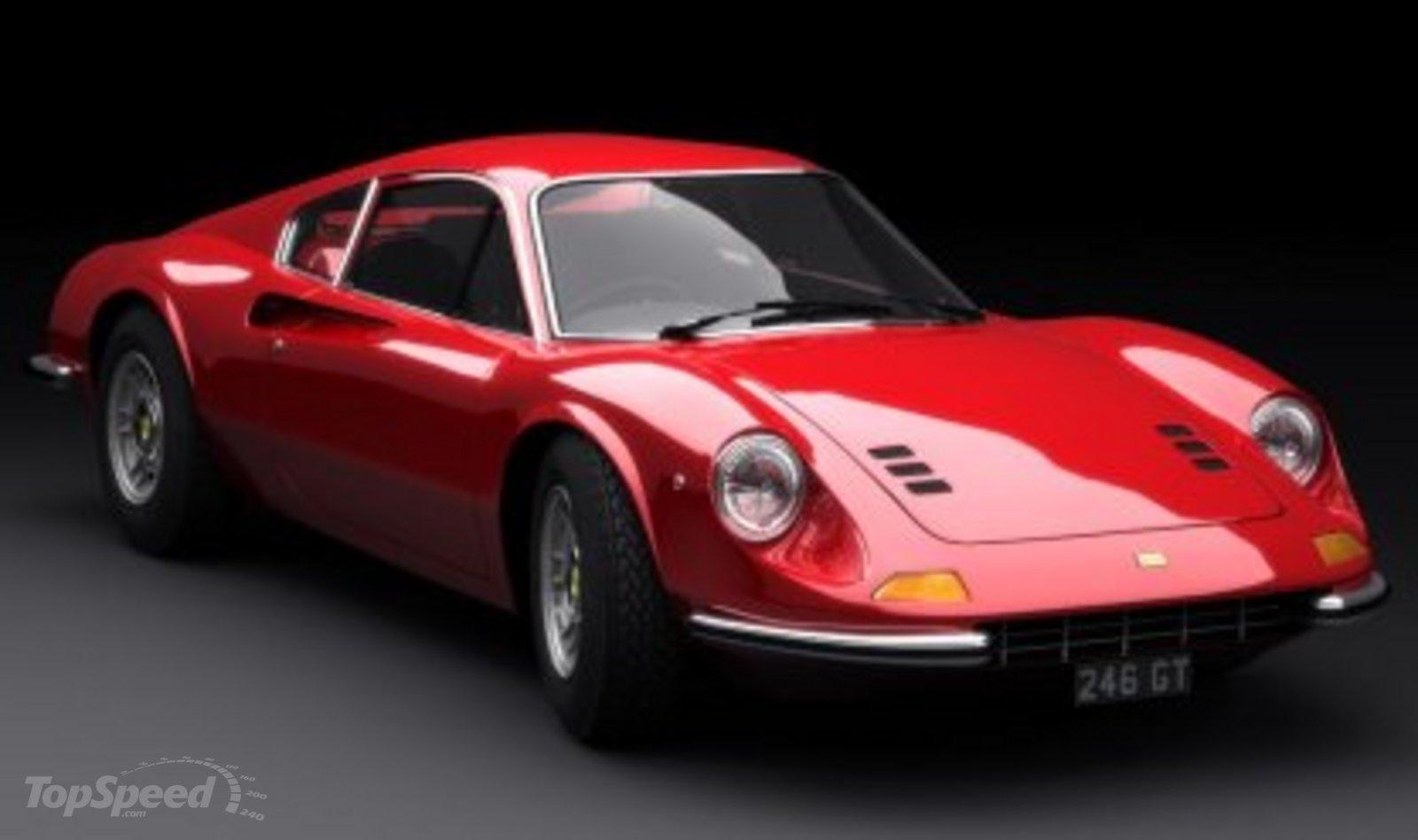 Ferrari Dino 246 GT I 1969 - 1974 Coupe #2