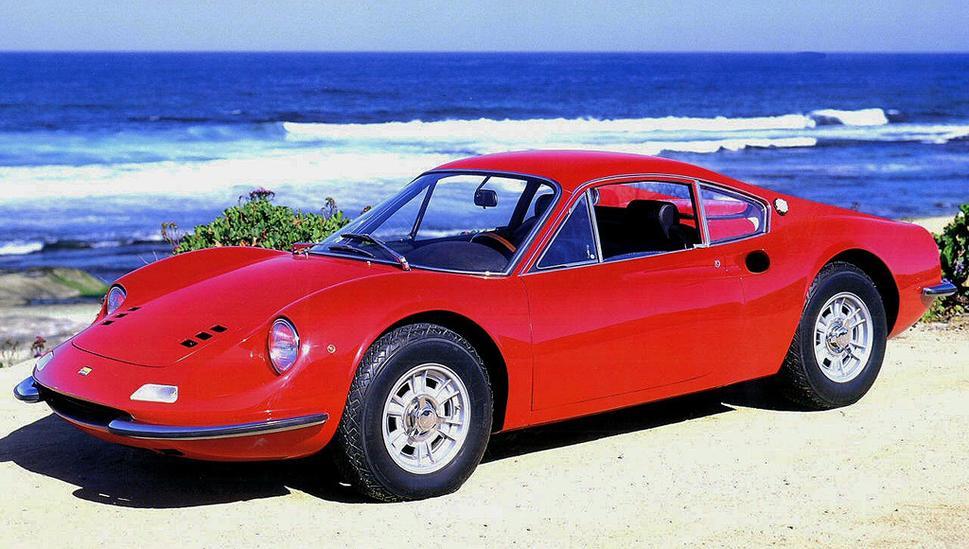 Ferrari Dino 246 GT I 1969 - 1974 Coupe #5