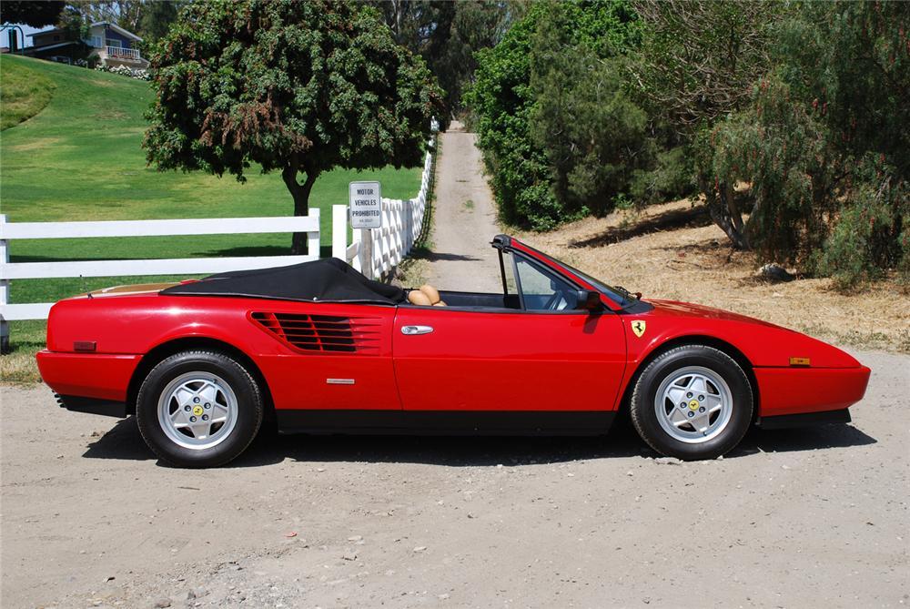 Ferrari Mondial 1980 - 1993 Cabriolet #1