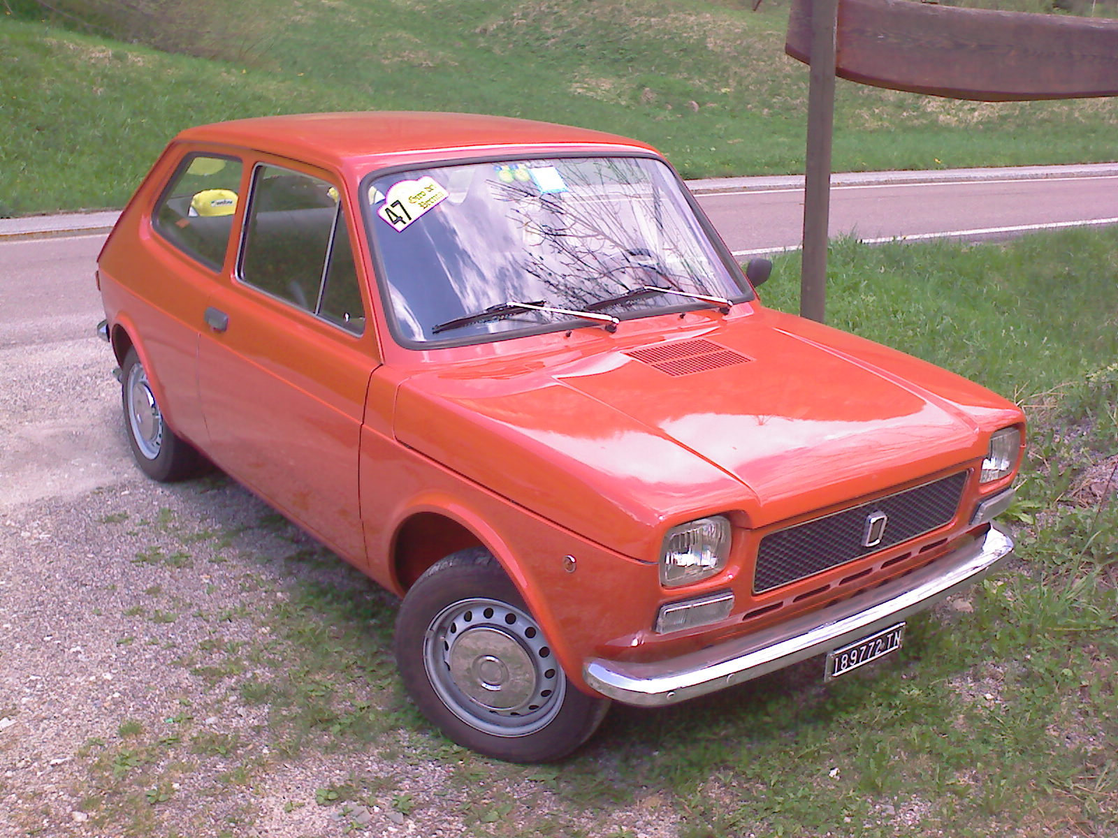 Fiat 127 1971 - 1987 Hatchback 3 door #3