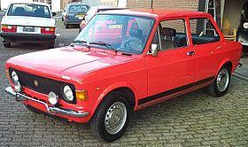 Fiat 128 1969 - 1985 Sedan #8