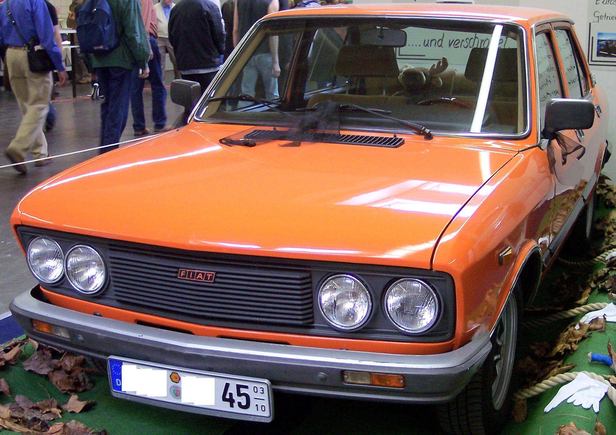 Fiat 132 1972 - 1982 Sedan #3