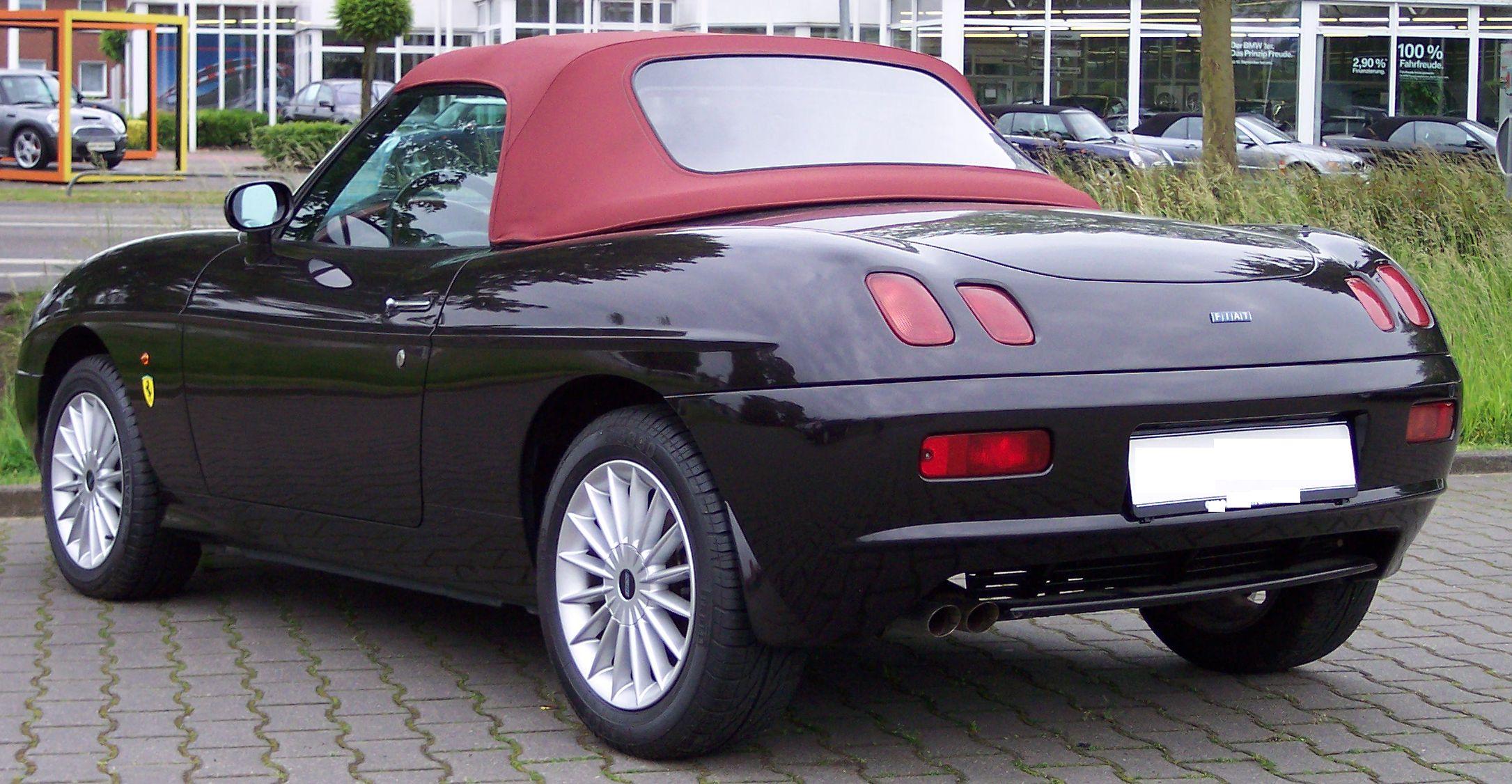 Fiat Barchetta I Restyling 2003 - 2005 Cabriolet #3