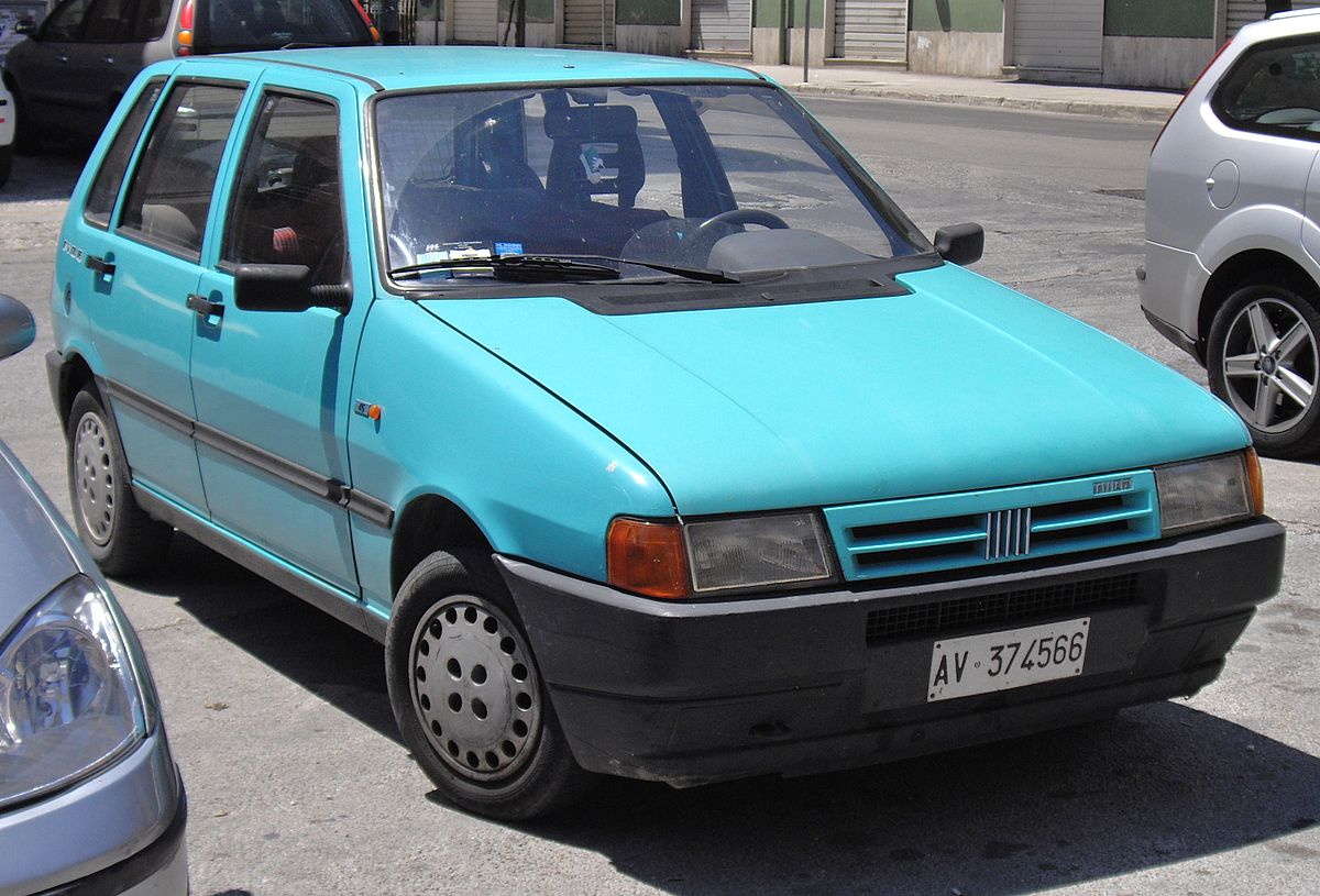 Fiat Uno I Restyling 1989 - 2002 Hatchback 3 door #8