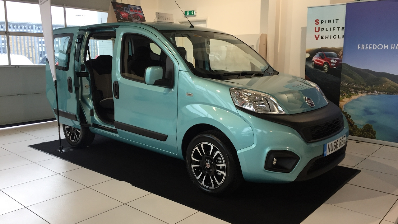 Fiat Qubo I Restyling 2016 - now Compact MPV #4