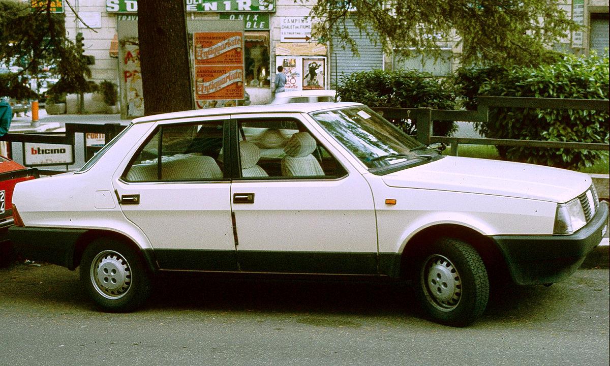 Fiat Regata 1983 - 1990 Sedan #1