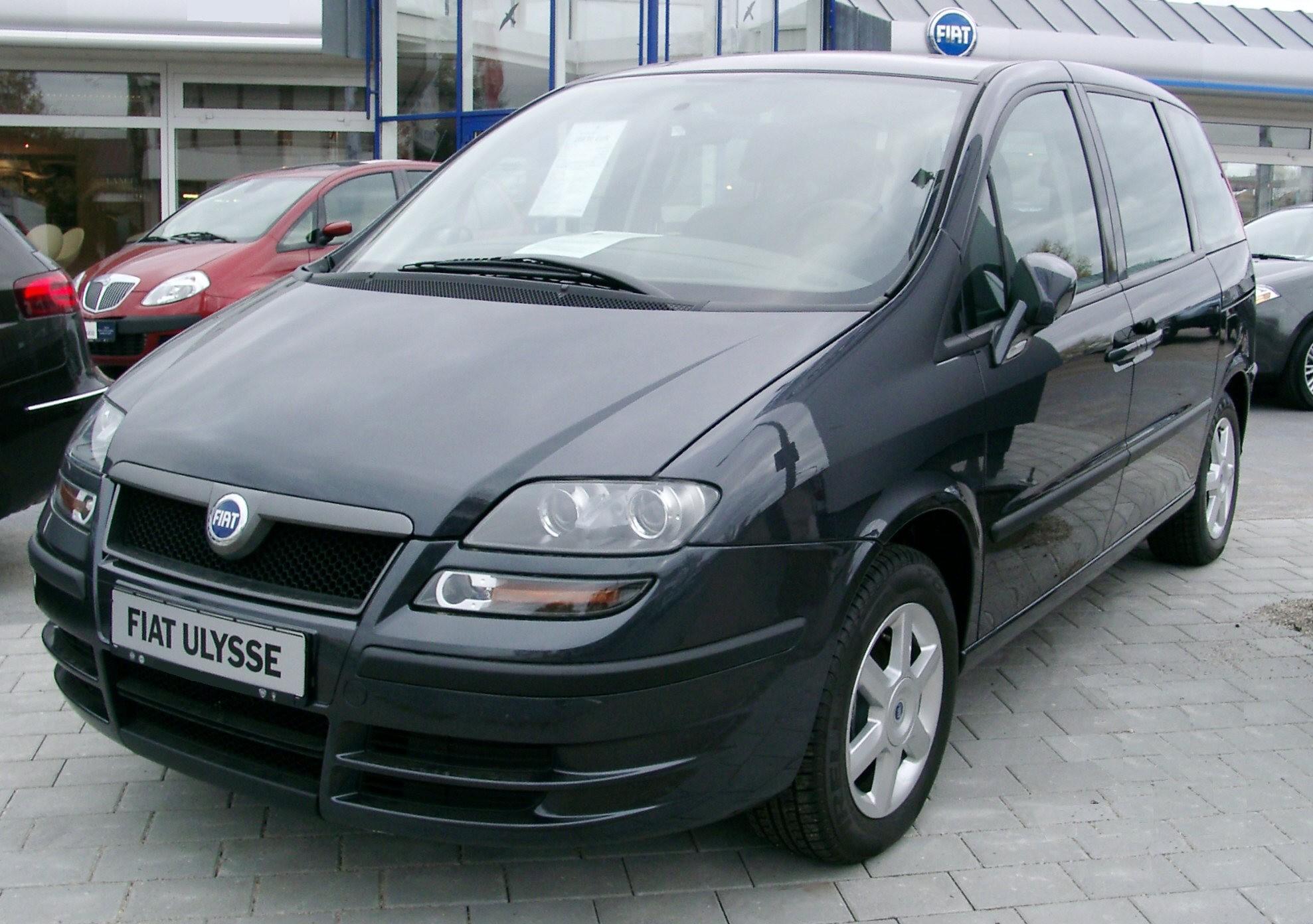 Fiat Ulysse II 2002 - 2010 Compact MPV #3