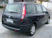 Fiat Ulysse II 2002 - 2010 Compact MPV #7