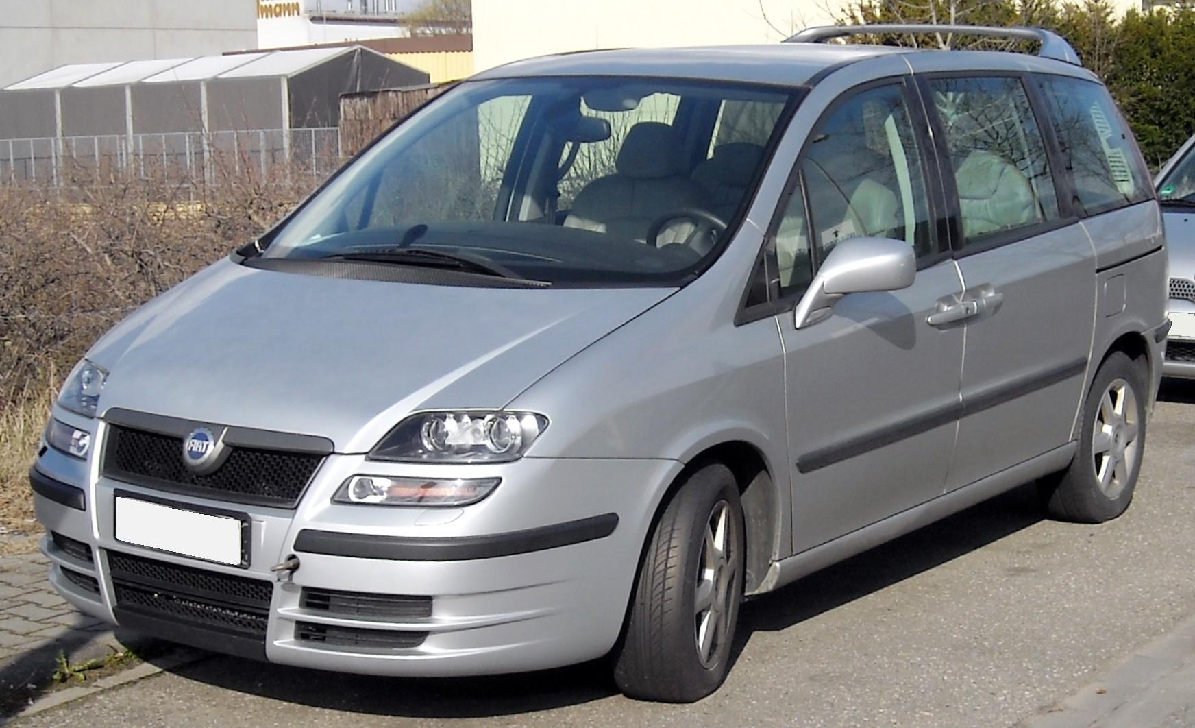 Fiat Ulysse II 2002 - 2010 Compact MPV #2