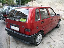 Fiat Uno I Restyling 1989 - 2002 Hatchback 3 door #6