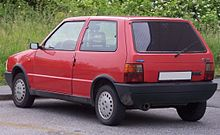 Fiat Uno I Restyling 1989 - 2002 Hatchback 3 door #7