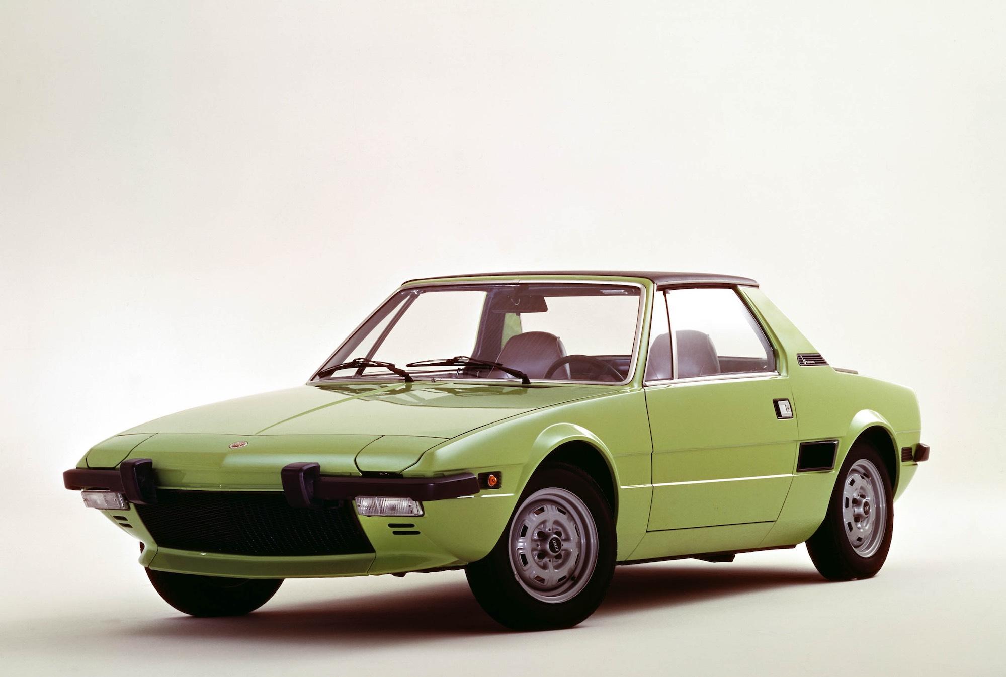 Fiat X 1ǟ 1972 - 1982 Targa #2