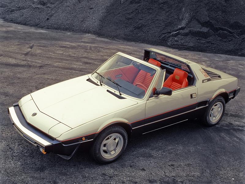 Fiat X 1ǟ 1972 - 1982 Targa #3