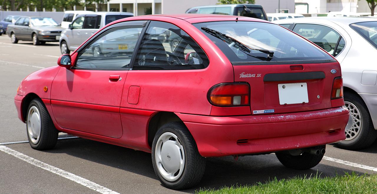 Ford Aspire 1993 - 1997 Hatchback 5 door #1