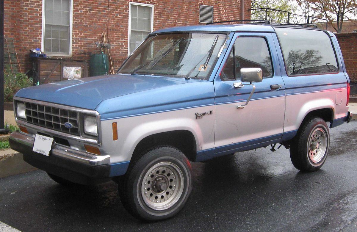 Ford Bronco V 1992 - 1996 SUV 3 door #6