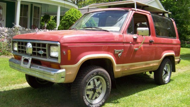 Ford Bronco-II 1984 - 1990 SUV 3 door #2