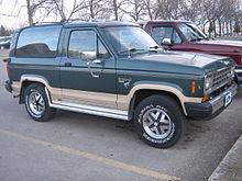 Ford Bronco-II 1984 - 1990 SUV 3 door #7