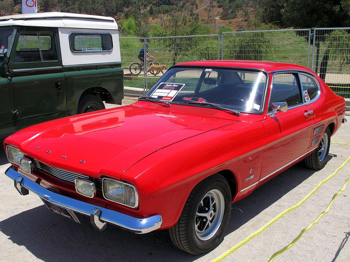Ford Capri I 1969 - 1974 Coupe #8