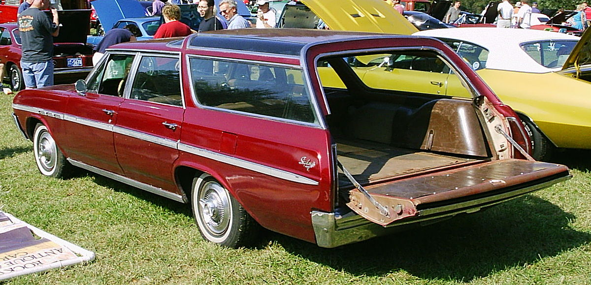 Ford Consul 1972 - 1976 Station wagon 5 door :: OUTSTANDING CARS