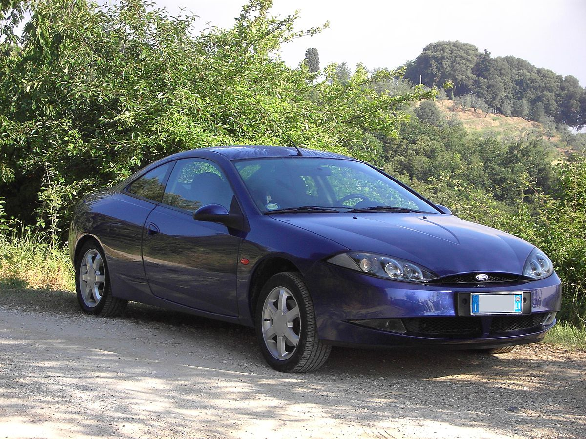 Ford Cougar 1998 - 2002 Coupe #8