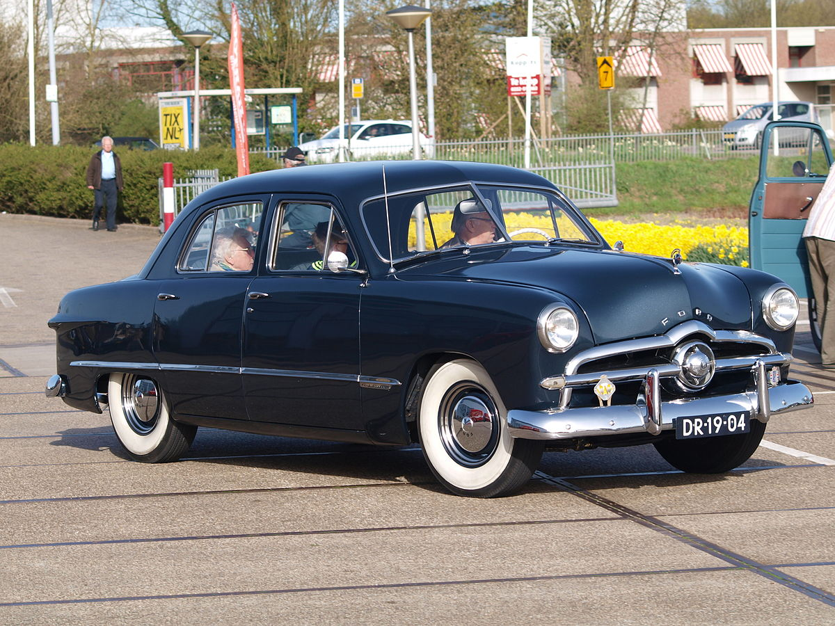 Ford Custom 1949 - 1955 Coupe #6