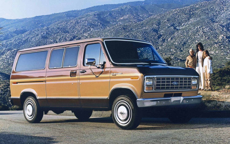 Ford Econoline 1992 - 2013 Minivan #6