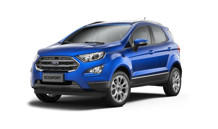 Ford EcoSport I Restyling 2017 - now SUV 5 door #2