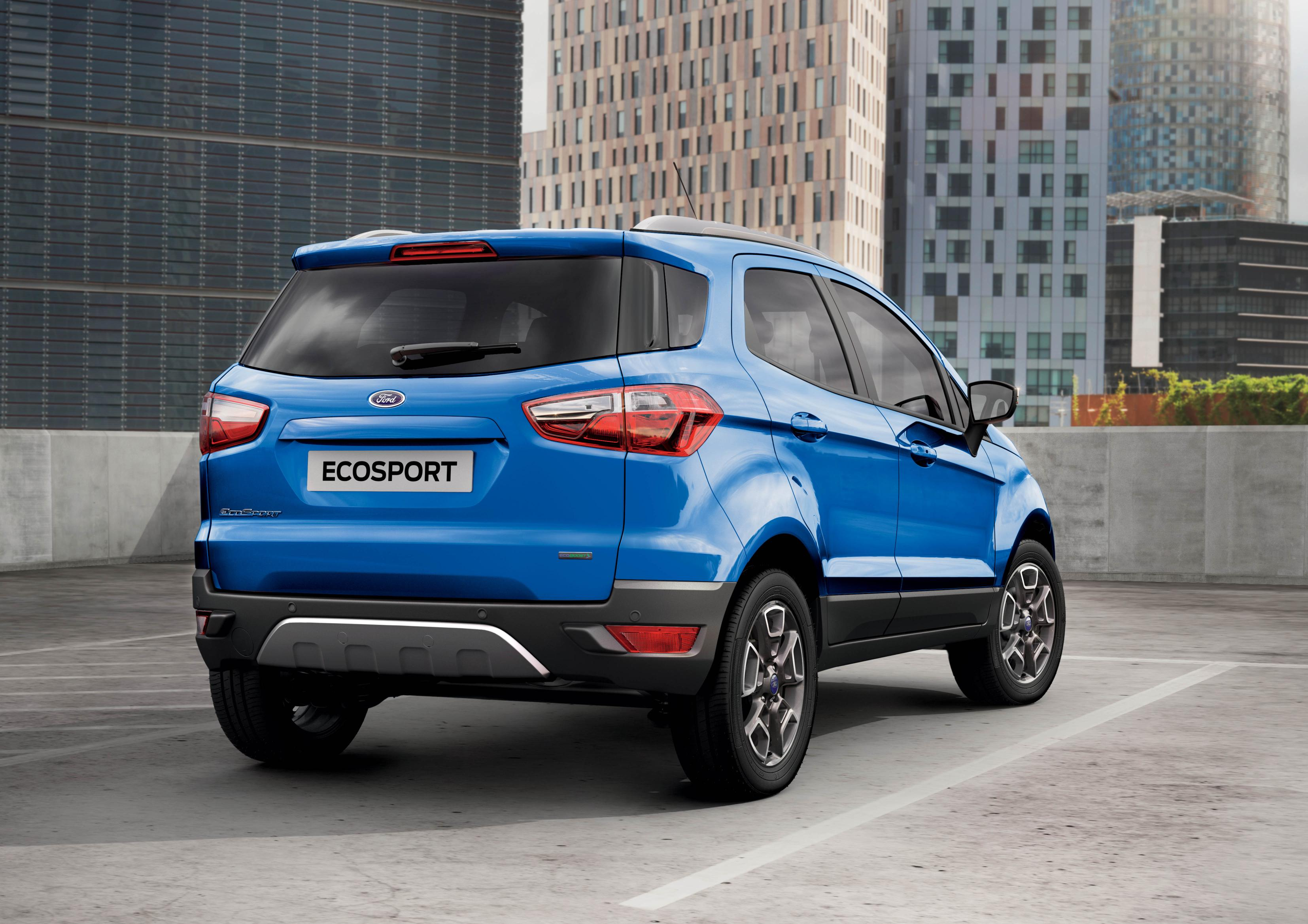 Ford EcoSport I Restyling 2017 - now SUV 5 door #1