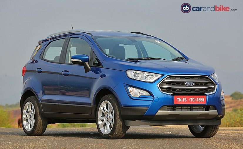 Ford EcoSport I Restyling 2017 - now SUV 5 door #6