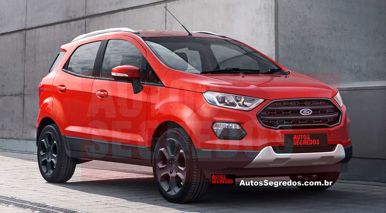 Ford EcoSport I Restyling 2017 - now SUV 5 door #5