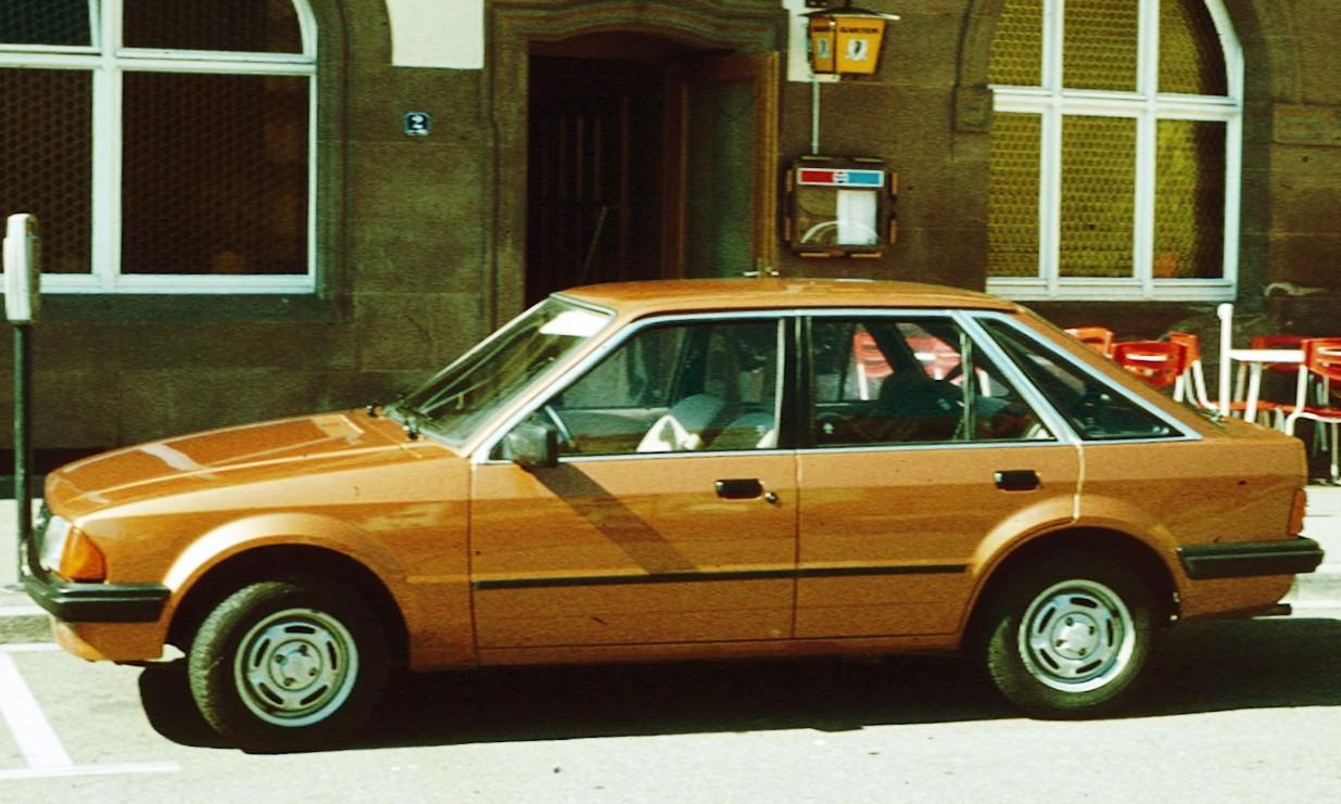 Ford Escort Iii 1980 1986 Station Wagon 5 Door Outstanding Cars Capri Interior 1