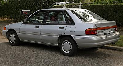 Ford Escort (North America) II 1990 - 1996 Hatchback 3 door #7