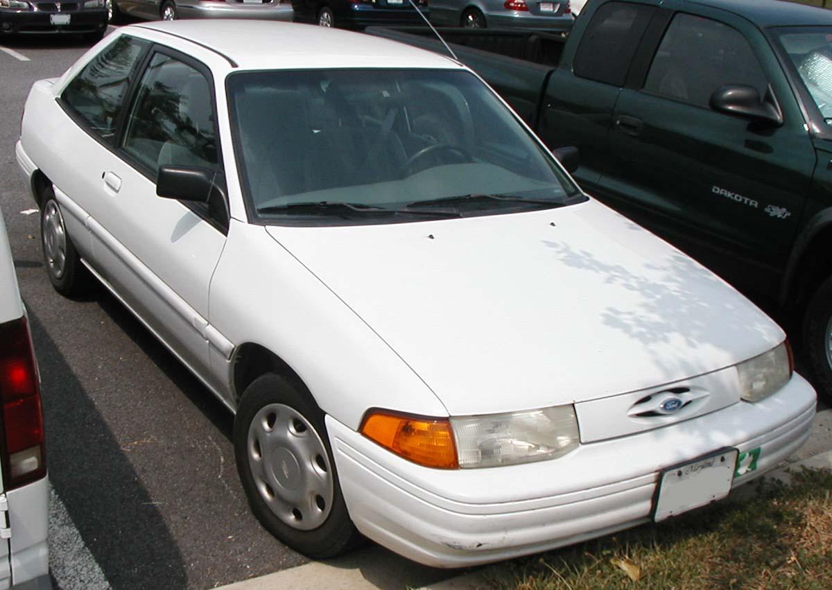 Ford Escort (North America) II 1990 - 1996 Hatchback 3 door #5