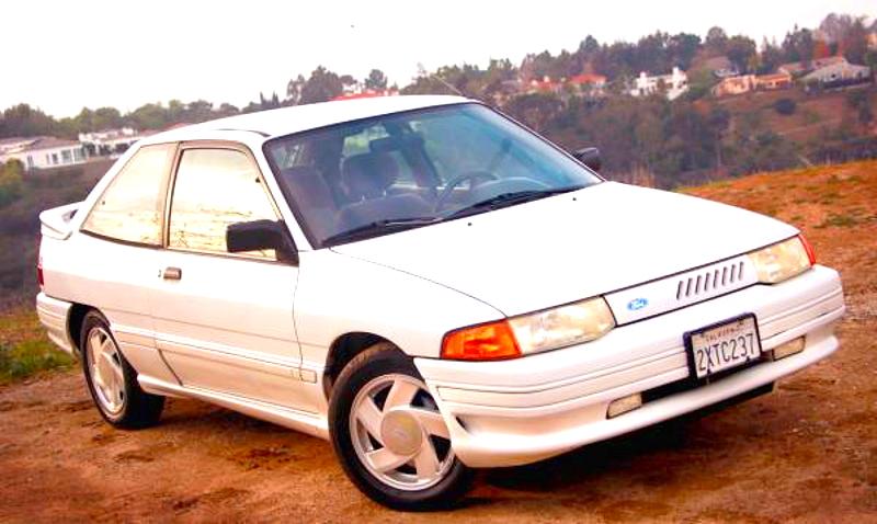Ford Escort (North America) II 1990 - 1996 Hatchback 3 door #1