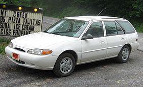 Ford Escort (North America) II 1990 - 1996 Hatchback 3 door #8