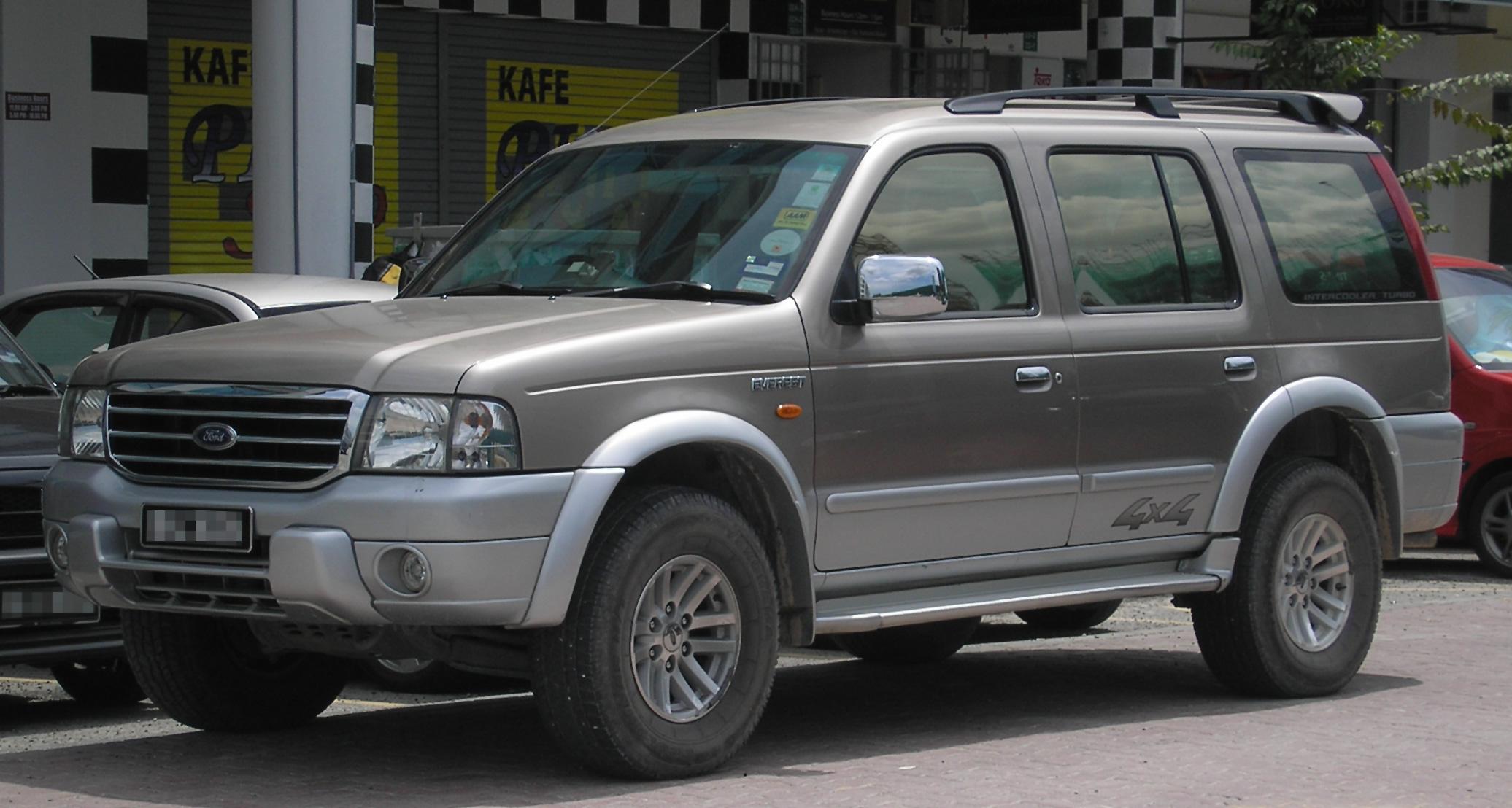 Ford Everest II 40   40 SUV 40 door  OUTSTANDING CARS