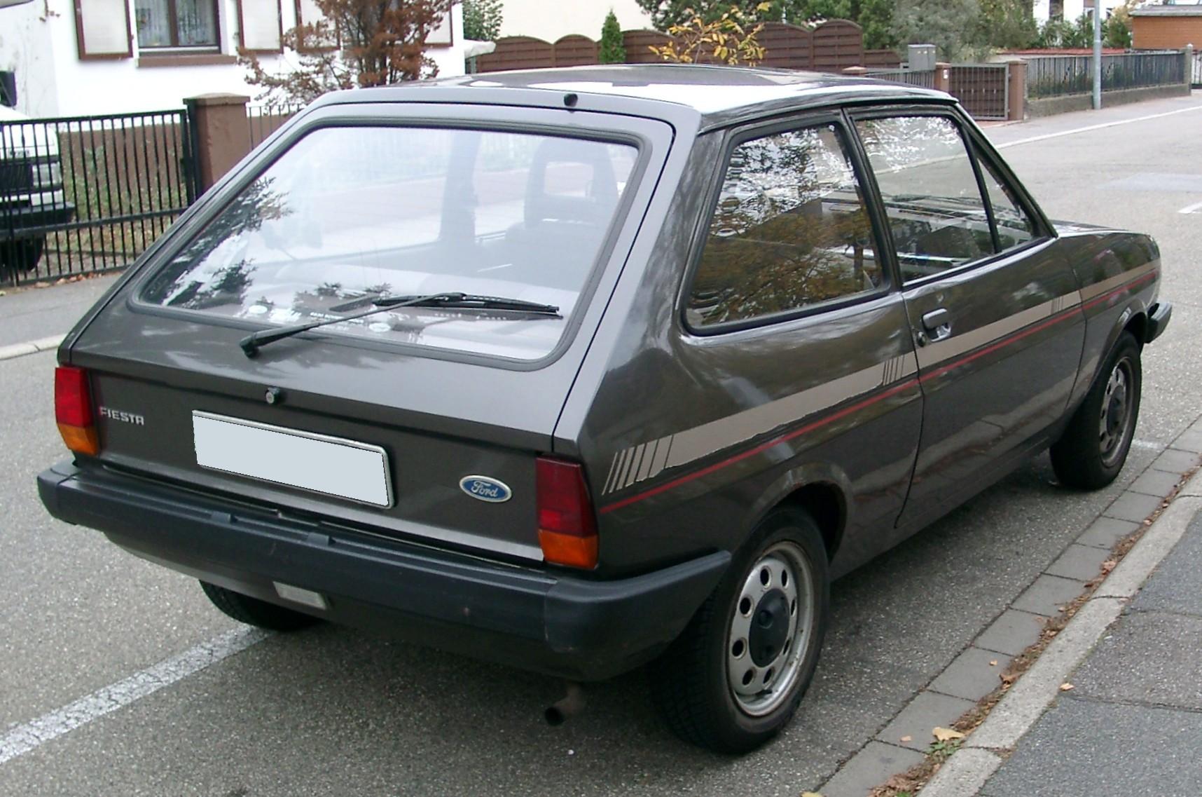 Ford Fiesta Mk1 1976 - 1983 Hatchback 3 door #5