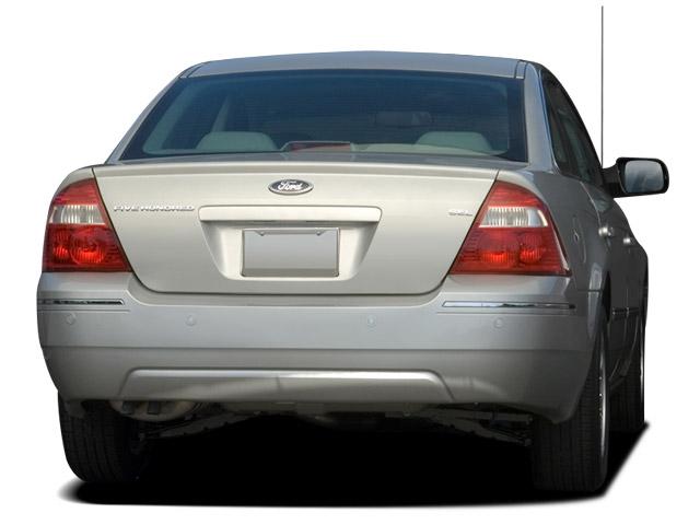 Ford Five Hundred 2004 - 2007 Sedan #5