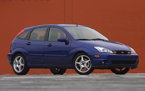 Ford Focus (North America) I 1999 - 2004 Hatchback 3 door #7