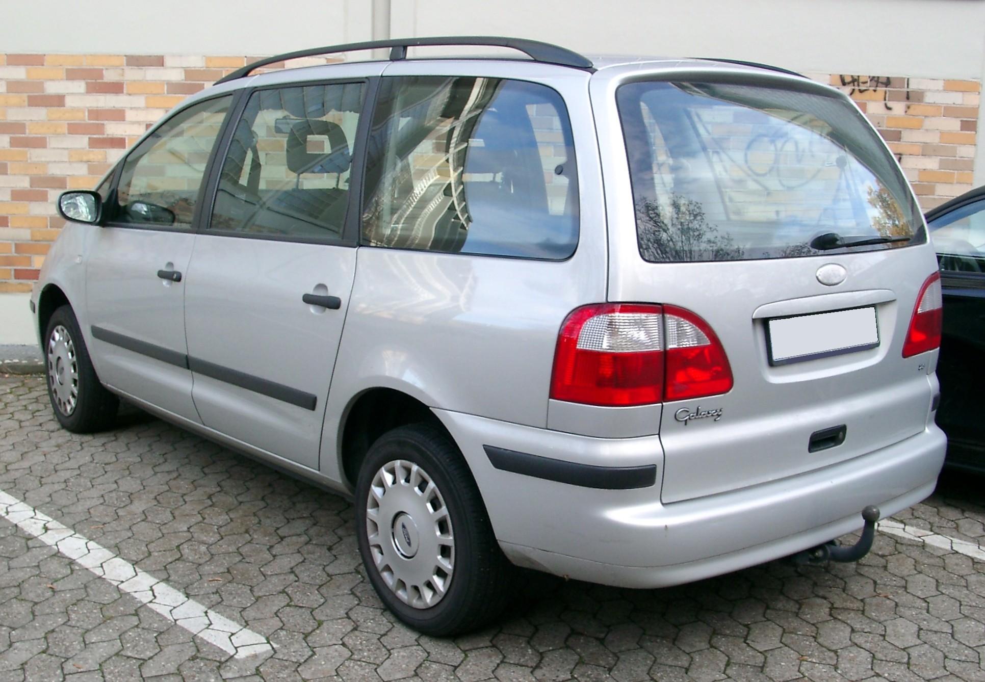 Ford Galaxy I Restyling 2000 - 2006 Minivan #5