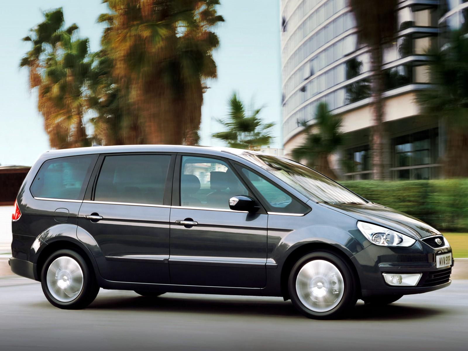 Ford Galaxy II 2006 - 2010 Minivan #5
