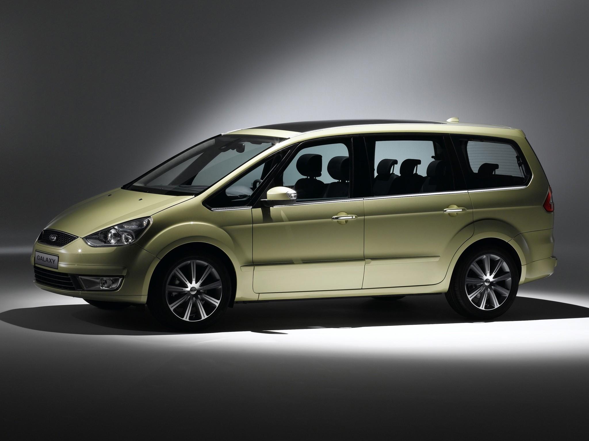 Ford Galaxy II 2006 - 2010 Minivan #2