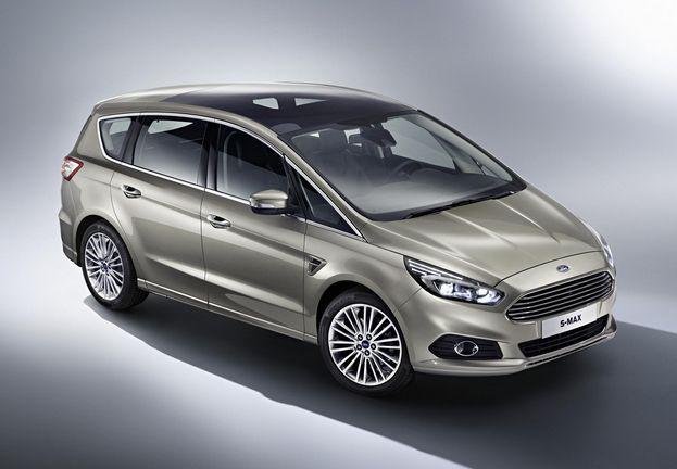 Ford Galaxy III 2015 - now Minivan #2