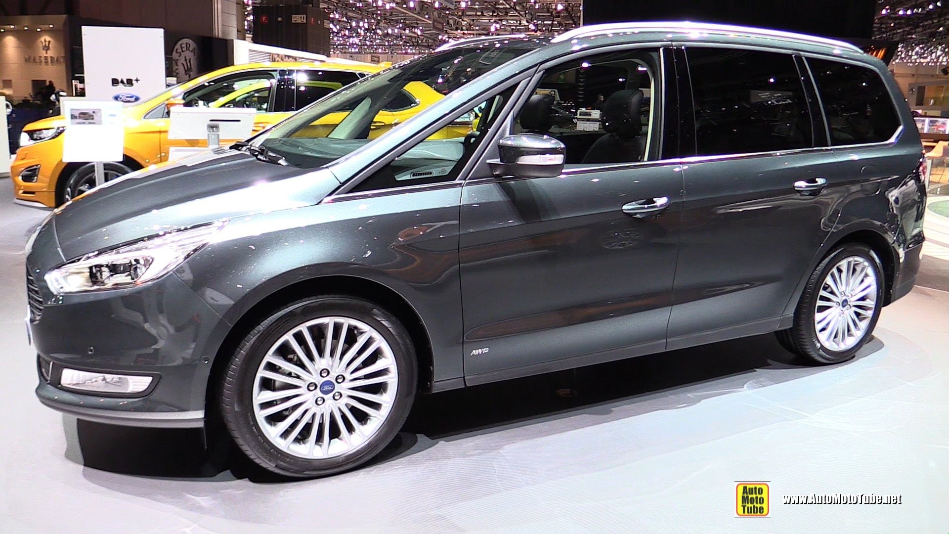 Ford Galaxy III 2015 - now Minivan #5