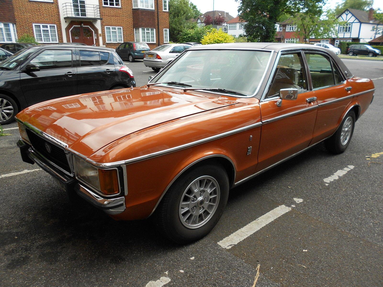 Ford Granada I 1972 - 1977 Coupe #4