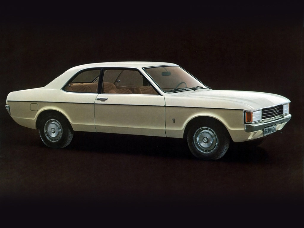 Ford Granada I 1972 - 1977 Coupe #1